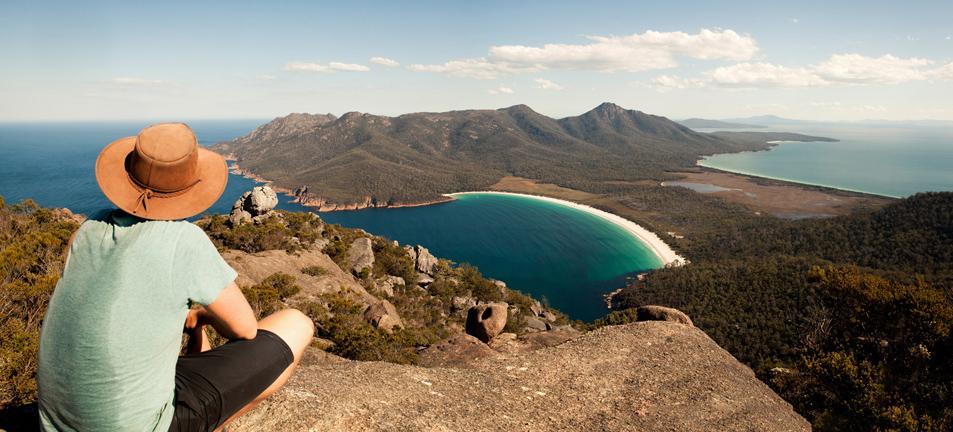 Mount Amos Tastrails Tasmanian Bushwalking Guide