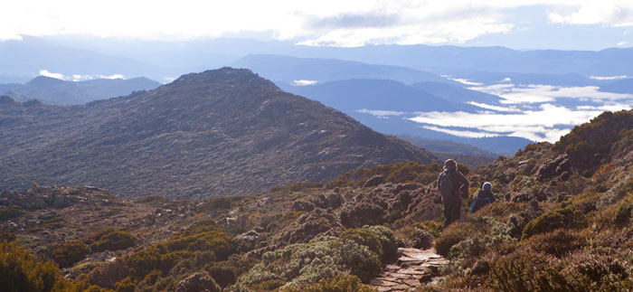 Hartz Peak Walk, Tasmania