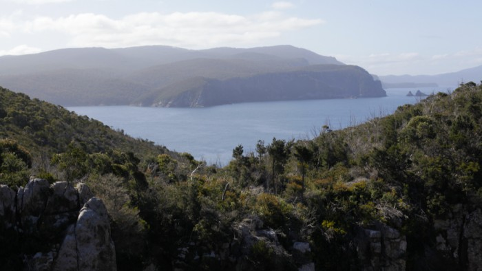 Fortescue Bay, from Cape Hauy
