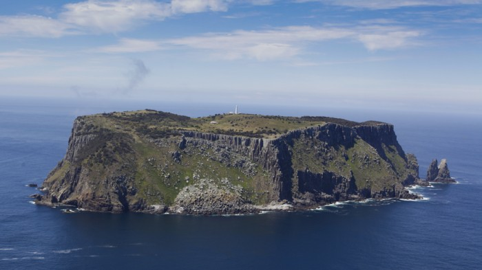 Tasman Island, viewed from Cape Pillar