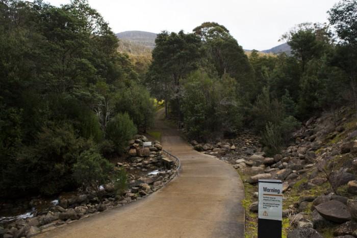 Beginning of Lenah Valley Track