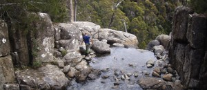 Top of Wellington Falls
