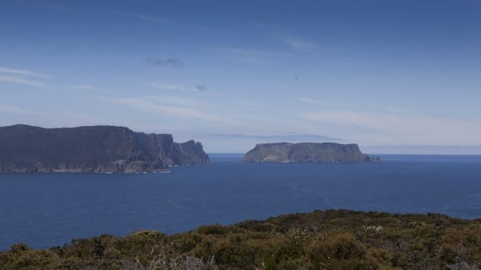 View from Mount Brown towards Tasman Island