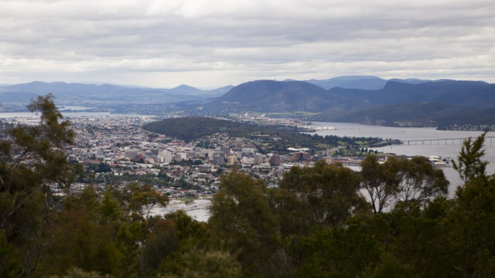 View of Hobart from The Signal Station
