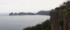 View of The Lanterns, Candlestick & Cape Hauy from Eagles Lookout,