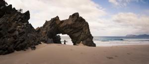 Arch at Cape Queen Elizabeth
