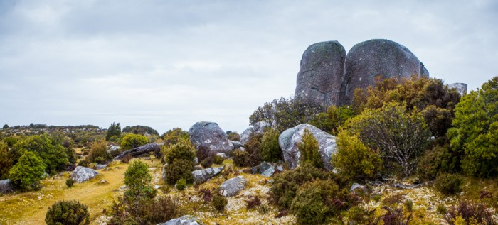 Boulders on Mount Poimena