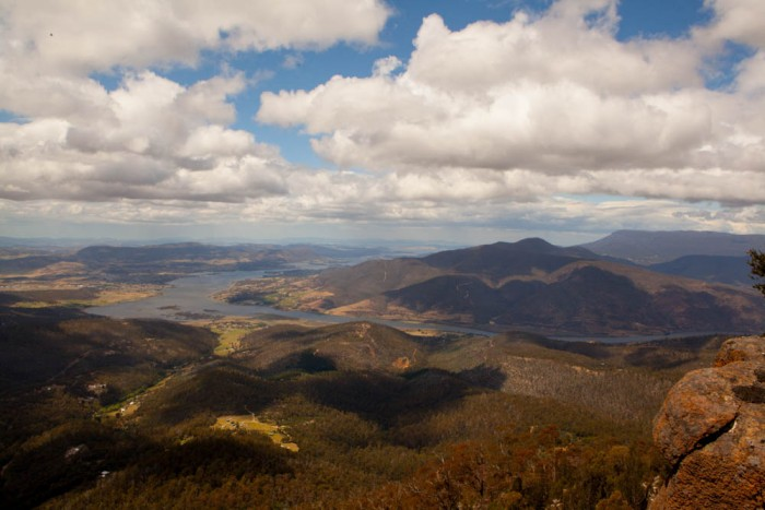 View south from Mount Dromedary