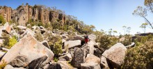 Lost World area, Mount Wellington (Kunanyi)
