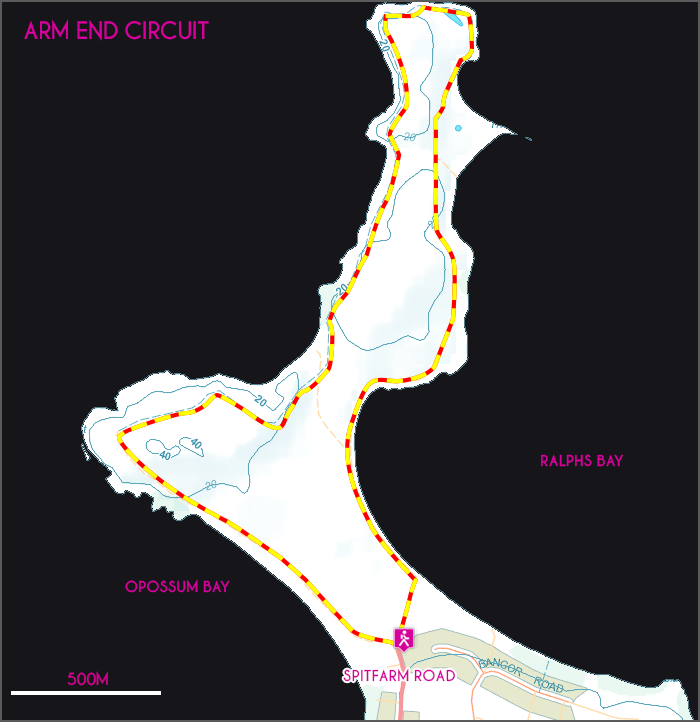 Arm End Circuit map