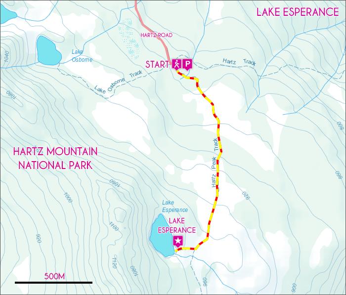 Lake Esperance Map