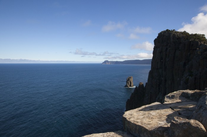 Looking towards Cape Pillar from Cape Hauy