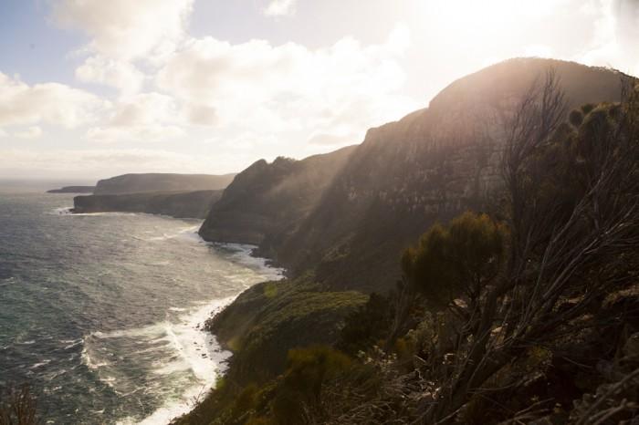 Cape Raoul track