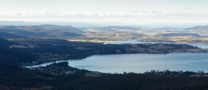 View of Orford from Three Thumbs Track