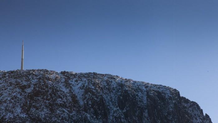 View of Mount Wellington