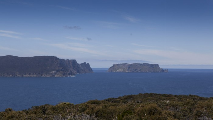 View from Mount Brown towards Tasman Island