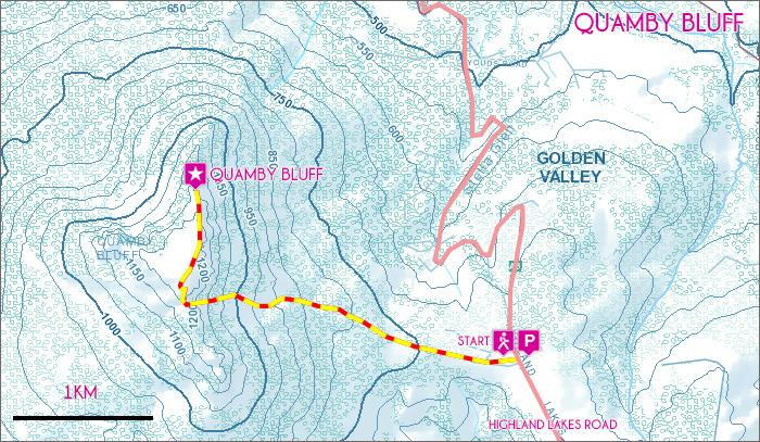 Quamby-Bluff