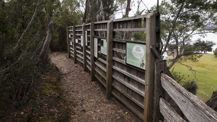 Platypus viewing area