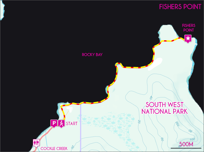 Fisher Point Map