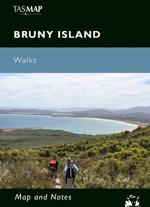 Bruny Island Walks Map