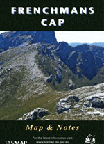 Frenchmans Cap Walk Map