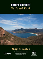 Freycinet National Park Map