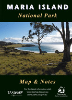 Maria Island National Park Map