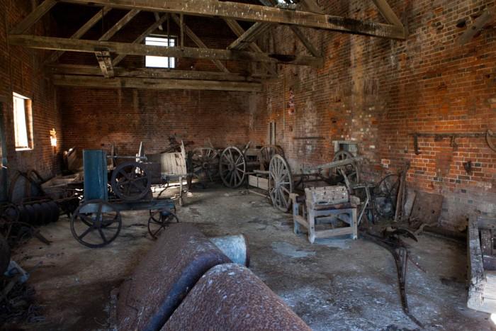Maria Island Convict Barn